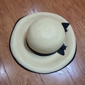 Simon Chang straw hat